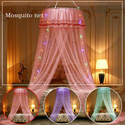 £17.59 • Buy Kids Girls Bed Canopy Mosquito Net Bedcover Curtain Dome Tent Bedroom Netting