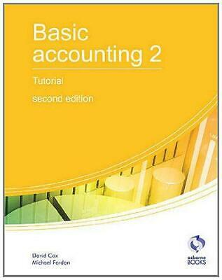 Basic Accounting 2 Tutorial (AAT Accounting - Level 2 Certificate In Accounting) • 7.69£