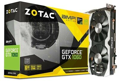 $ CDN477.19 • Buy ZOTAC NVIDIA GeForce GTX 1060 AMP Edition, 6GB GDDR5 Video Graphics Card GPU