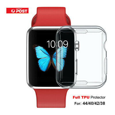 AU5.56 • Buy For Apple Watch IWatch Clear Screen Protector Series 6 5 4 3 2 SE 44 40 42 38mm