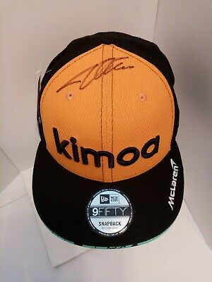 Fernando Alonso Signed 2018 F1 Kimoa Drivers Cap Size M/L. Brand New With Tag. • 145£