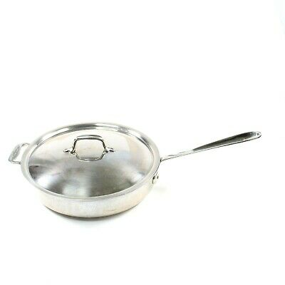 $ CDN101.22 • Buy All Clad 2 Quart Sauce Pan With Lid 2.5 Deep X 11 Round Saute Frying Oven Safe