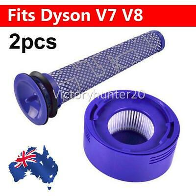 AU17.95 • Buy Pre+ Post Filter Replacement For Dyson V8 V7 Absolute Animal Motorhead Vacuums