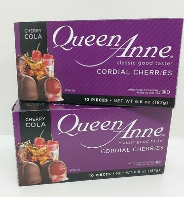 $8.50 • Buy QueenAnne Chocolate CHERRY COLA Cordial,Chocolate Covered Cherries EXPIRE 3/2022