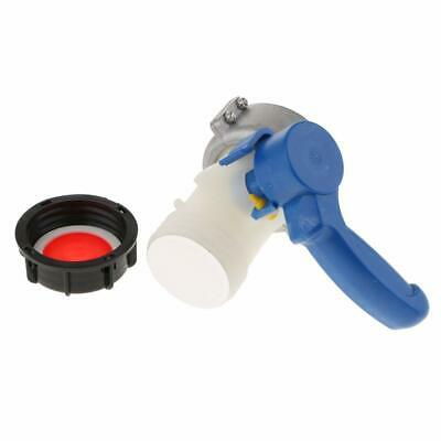 IBC Tank 62mm/75mm Replacement Valve Tap Water Oil Container IBC Schutz New • 15.88£