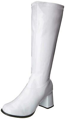 New Ellie Shoes Womens Gogo Closed Toe Knee High Fashion Boots, White • 19.99£