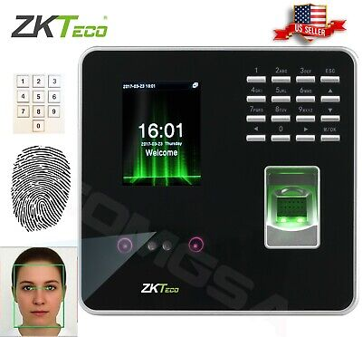 AU194.26 • Buy ZKTeco Face Fingerprint Identification Tme Attendance & Access Control Zk. USA