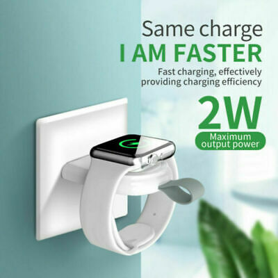$ CDN5.70 • Buy For Apple Watch Series 6/5/4/3/2/1 IWatch Portable USB Wireless Charger Keychain