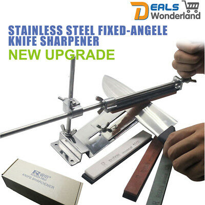 AU55.30 • Buy Pro Fix-Angle Knife Sharpener Stainless Steel Sharpening System Edge Pro Style