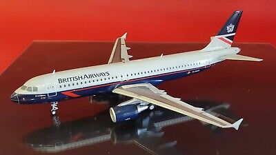 AU139.21 • Buy JC Wings 1:200 Airbus A320 British Airways Landor G-BUSI (with Stand)