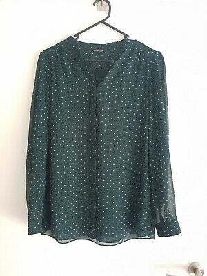 AU30 • Buy Massimo Dutti Ladies Blouse Top Eur Size 38