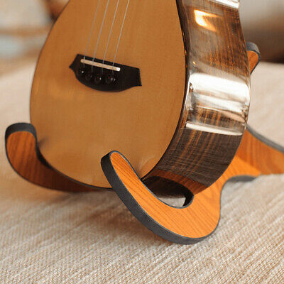 AU18.14 • Buy Portable Ukulele Wooden Foldable Holder Collapsible Guitar Display Stand R  WJ