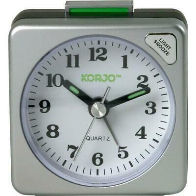 AU26.58 • Buy Small Quartz Alarm Clock Bedroom Bedside Snooze Wake Up Analogue Office Table AU