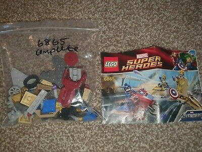LEGO Super Heroes 6865 Captain America's Avenging Cycle Complete • 13£