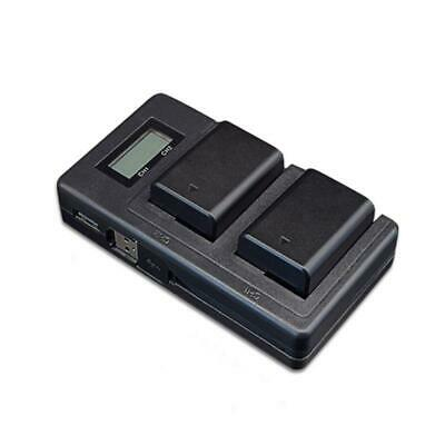 AU15.80 • Buy NP-FW50 Camera Battery Charger LCD Display Dual USB Charger For Sony A6000 A6500