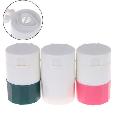 AU9.72 • Buy Pill Medicine Crusher Grinder Splitter Tablet Divider Cutter Storage Box Cas;AWJ