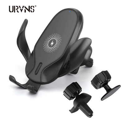 $ CDN6.86 • Buy Qi Wireless Car Charger Phone Holder Auto Clamping Mount Fast Charging Air Vent