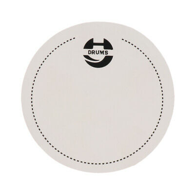 1x Single Step Bass Drum Patch For Percussion Instrument Parts Accessories • 2.75£