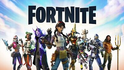 FORTNITE GAMING GAME ART WALL HANGING COVER ART DECO 30x20 Inch Canvas Framed UK • 19.99£