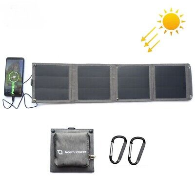 £46.42 • Buy Portable Solar Panel Charger 5V14W Purse IPhone IPad Samsung Huawei Xiaomi Sony