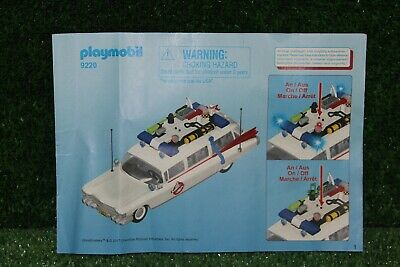 Playmobil Ecto1 Instructions • 5.99£