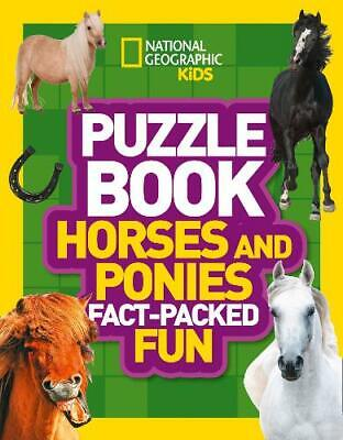 £3.92 • Buy Puzzle Book Horses And Ponies: Brain-tickling Quizzes, Sudokus, Crosswords And W