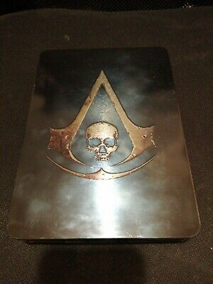 Assassins Creed Black Flag Steelbook Edition GAME Artbook Cd ART XBOX 360 XLNT • 29.99£