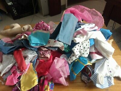 $ CDN50.80 • Buy  Barbie Doll Clothes Some Need Repaired Vintage Lot