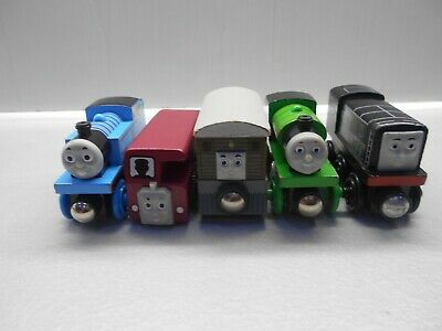 Wooden Thomas The Tank Engine Trains Toby Thomas Percy Bertie And Diesel • 20£