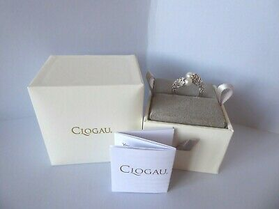 Clogau, Silver & Rose Gold Tree Of Life Pearl Ring Size S 1/2 RRP £129 • 58£