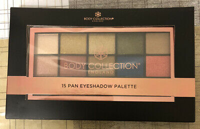 New Body Collection England 15 Pan Eyeshadow Palette-Cruelty Free💝Gift For Her • 8.79£