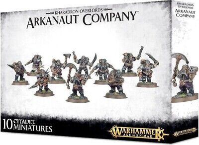 AU49.59 • Buy WARHAMMER AGE OF SIGMAR KHARADRON OVERLORDS ARKANAUT COMPANY Games Workshop