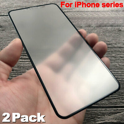 AU7.16 • Buy 2Pack Matte Tempered Glass For IPhone 12 11 X XS Max Screen Protector Glass Film