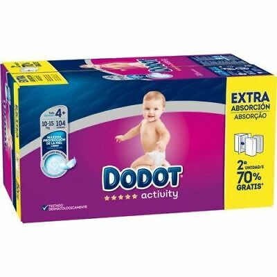 View Details Activity Extra Savings Box Diaper Size 4 With 104 Units - Dodot • 35.37£