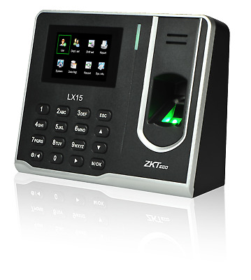 AU102.58 • Buy ZKteco Fingerprint LX15. Time Attendance Biometric Control For Employer Clock US