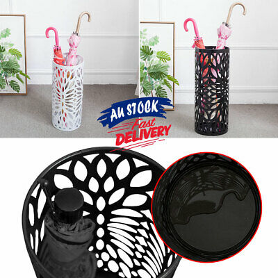 AU29.99 • Buy Storage Umbrella Stand Steel Walking Cane Umbrella Container Holder ACB#