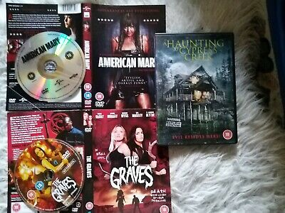 A Haunting At Cypress Creek DVD+ American Mary And The Graves Discs And Sleeves • 3.45£
