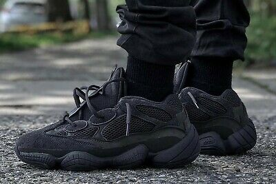 $ CDN419.66 • Buy Adidas Yeezy 500 Utility Black Size 10.5 Men's 100% Authentic IN HAND SHIPS NOW!