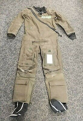 Vintage RAF Military SAS SBS RFD Beaufort Green Immersion Protection Suit MK10  • 74.25£