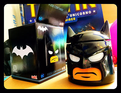 Lego Dc Comics Batman Food Container Zak! Designs Cookie Jar Cookie • 17.22£