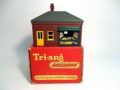 Tri-ang Railways R66K - PORTER'S ROOM With KIOSK  - Excellent, Boxed • 29.99£