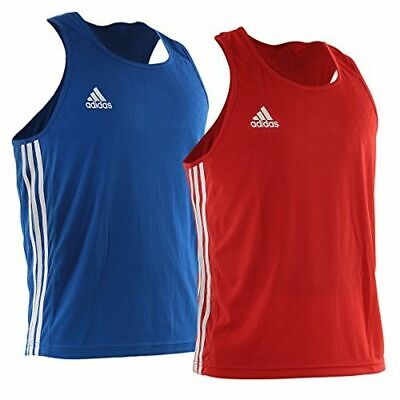 £21.99 • Buy 21.99 NEW  Adidas Boxing Vest Fight Training Top  Kids Mens  4 Colours FREEPOST