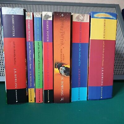 $ CDN42.60 • Buy Harry Potter Books Full Set Mixed Hardback And Paperback 2 First Editions
