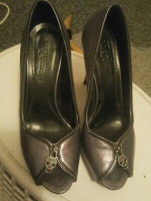 Alexander Mcqueen Pewter Coloured Shoes  • 10£