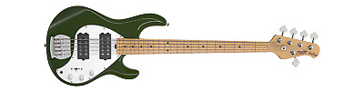AU995 • Buy Sterling By Musicman Bass Guitar Stingray 5hh 5 String Olive