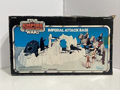 $ CDN158.19 • Buy VINTAGE Star Wars 1980 ESB Imperial Attack Base Complete With Box!