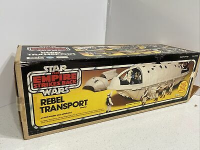 $ CDN379.65 • Buy VINTAGE 80'S KENNER STAR WARS ESB REBEL TRANSPORT W/ ORIGINAL BOX 100% Complete!