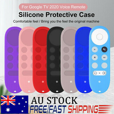AU12.93 • Buy Voice Remote Anti Lost Silicone Case Protective For Chromecast With Google TV