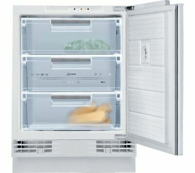 Neff G4344XFF0G Fully Integrated Under Counter Built-in Freezer 60cm A+ White • 379.99£