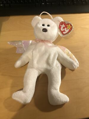 £300 • Buy **HALO TY BEANIE BABY** Stamped Tush Tag 467 & Rare Brown Nose !!